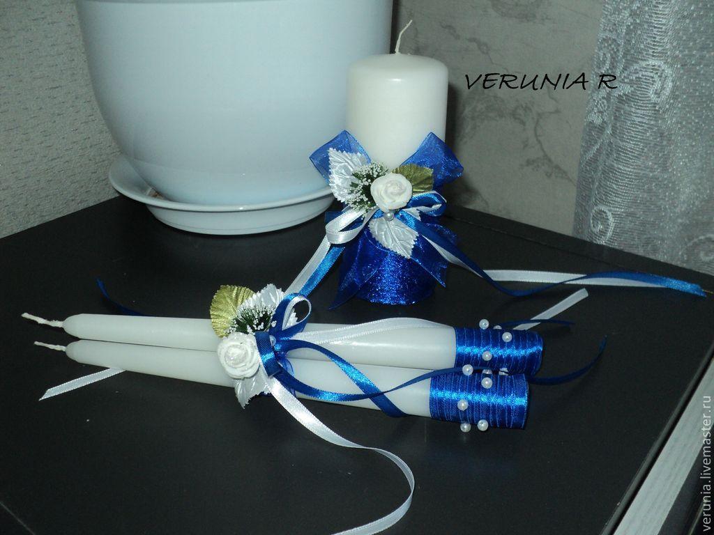 Оформление свечей на свадьбу своими руками фото